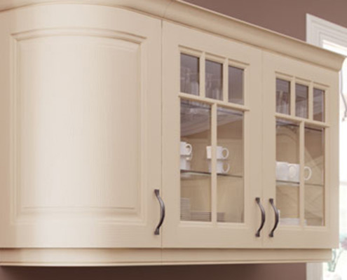 Jeff Ivory rounded wall unit
